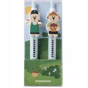Starbucks Bearista Pen Set